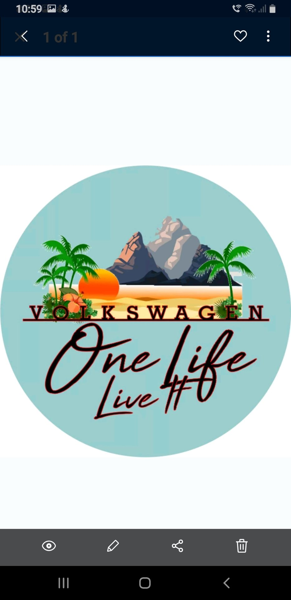 Showcase cover image for One life