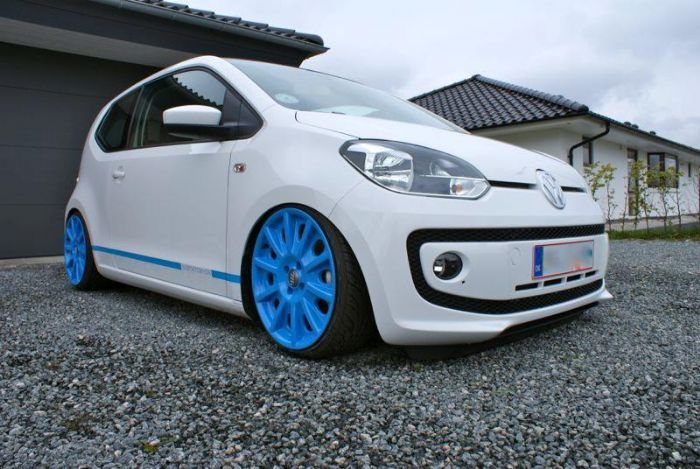 Air ride and 17's ! - VW UP! Forums