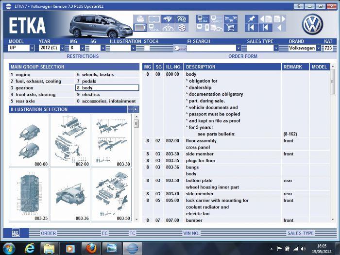 VW UP! Forums - View Single Post - Etka VAG parts catalogue